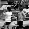 Berçy 2010 - Perchistes Féminines à L échauffement